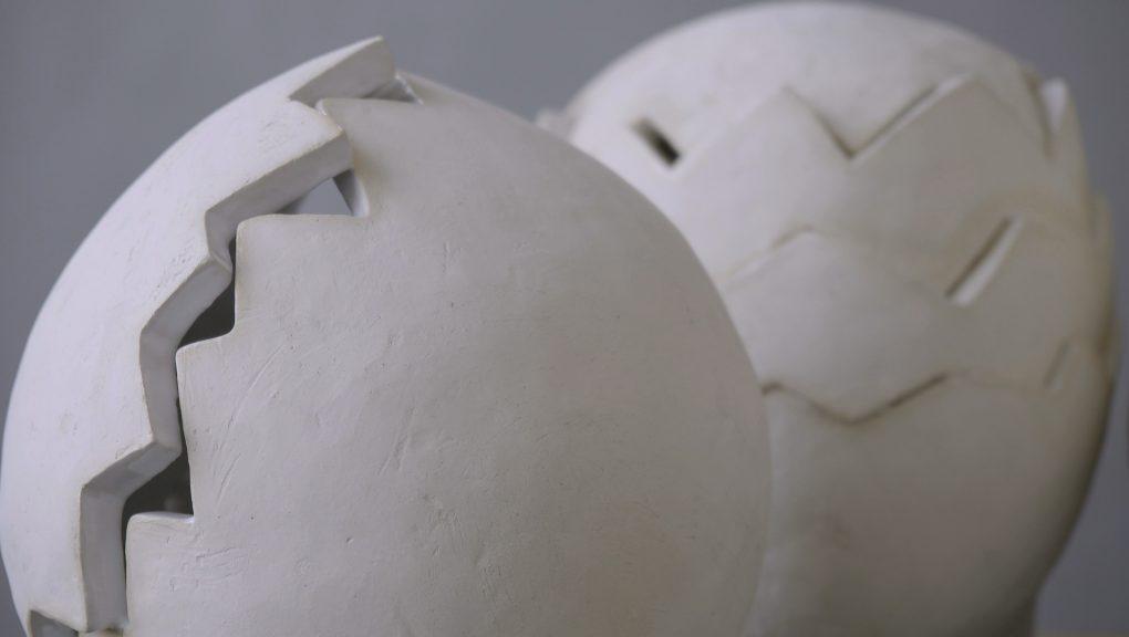 Ateliergesprächs mit der Bildhauerin Beate Schroedl